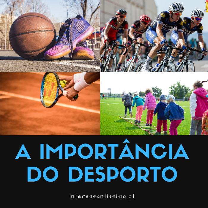 🎾 A Importância do Desporto na Sociedade. Descobrindo o impacto no mundo