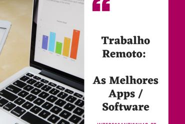os melhores softwares para trabalho remoto