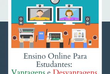 vantagens e desvantagens do ensino online para estudantes