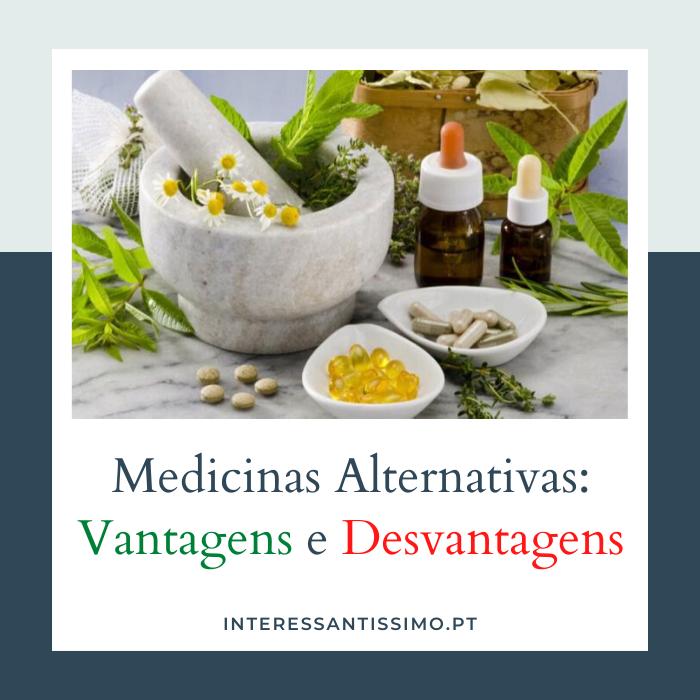 pros e contras da medicina alternativa