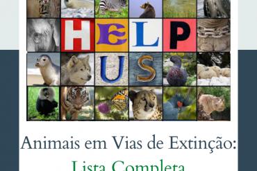 Lista extensiva de animais em vias de extinção