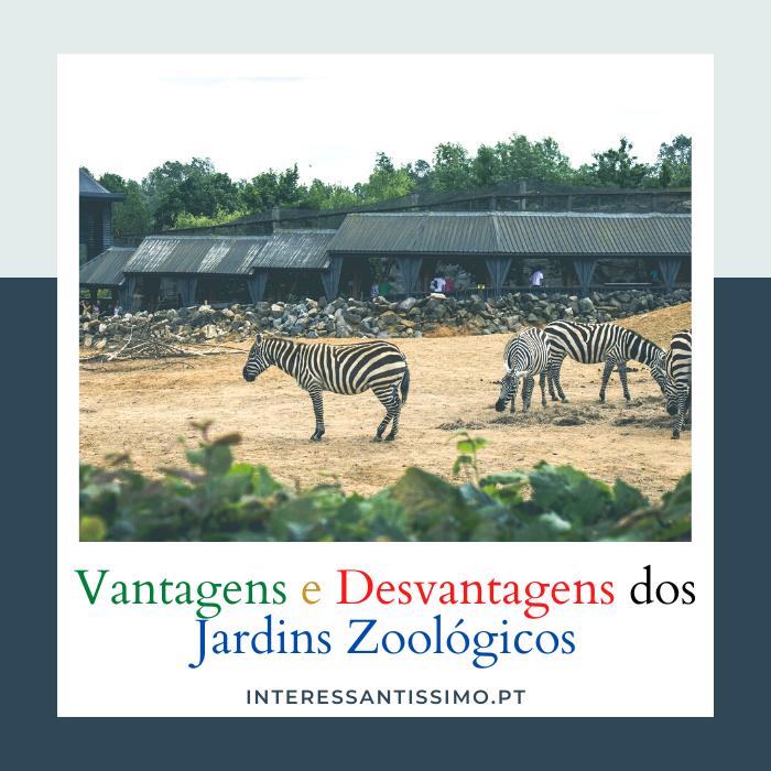 Vantagens e Desvantagens Dos Jardins Zoológicos